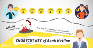 【Shortcut key of bank hotline】How to contact CS directly?