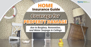 Home Insurance Guide: Coverage for Property Damage due to Burglary, Renovation, and Water Seepage in Ceilings