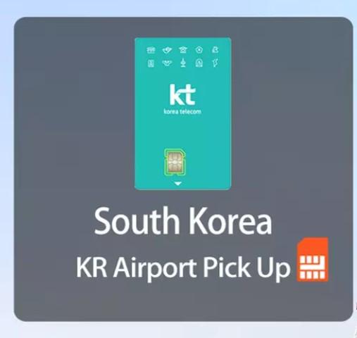 Klook-韓國上網Slim卡