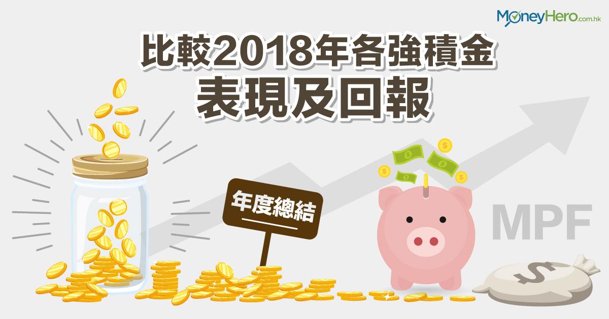 【年度總結】比較2018年各強積金 (MPF) 表現及回報