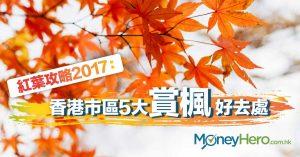 【香港紅葉攻略】香港市區5大賞楓好去處 2017