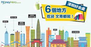 【深圳好去處】6個地方吃貨文青都啱!飲喜茶食探魚行市集!