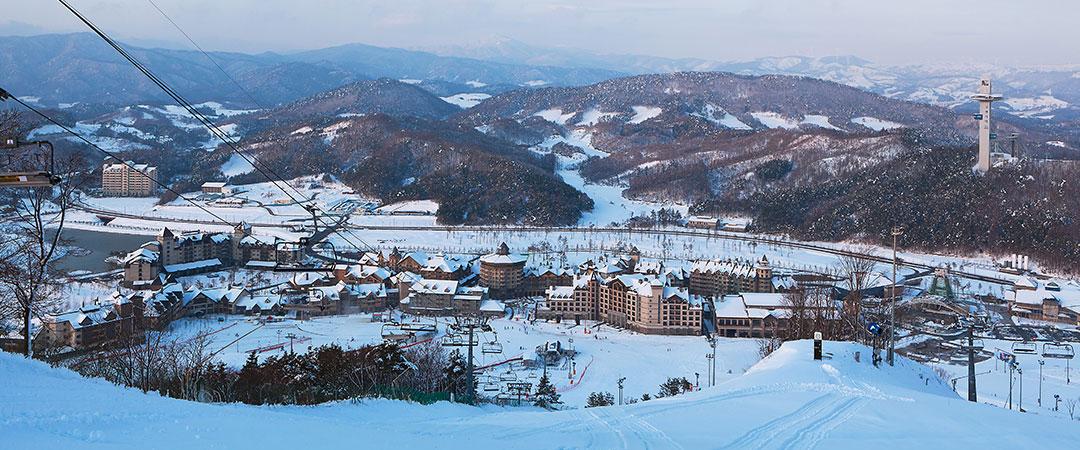 Alpensia-滑雪度假村