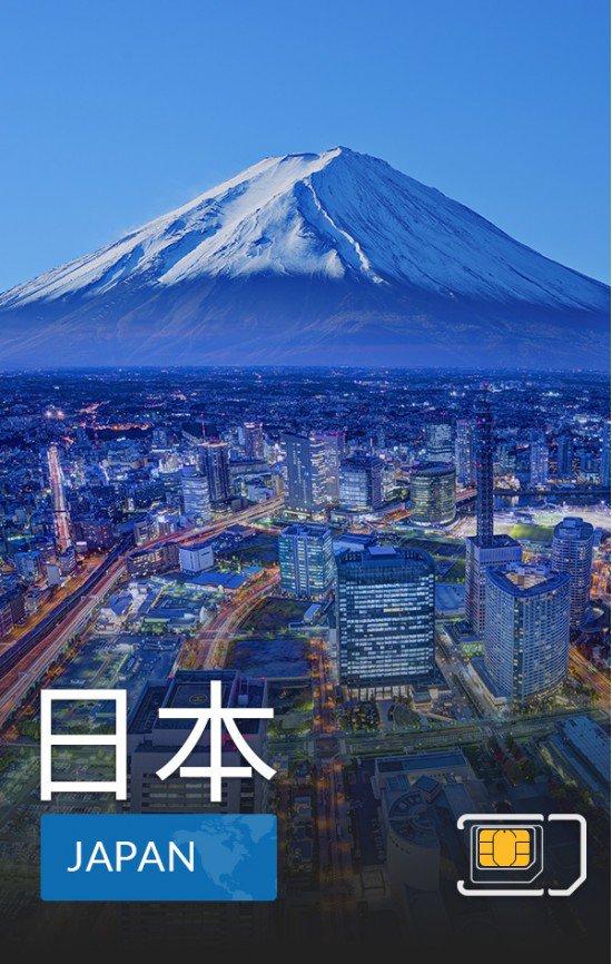 airsim-日本上網卡