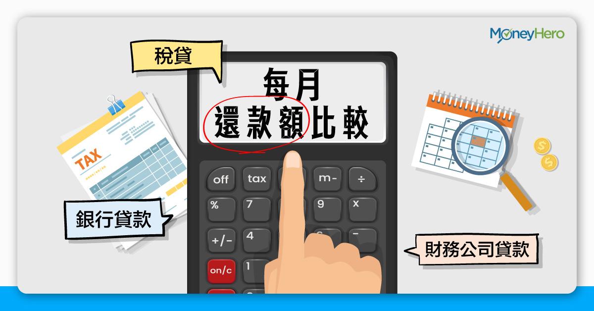 每月還款額-借10萬邊間利息最低-銀行貸款-財務公司貸款-稅貸