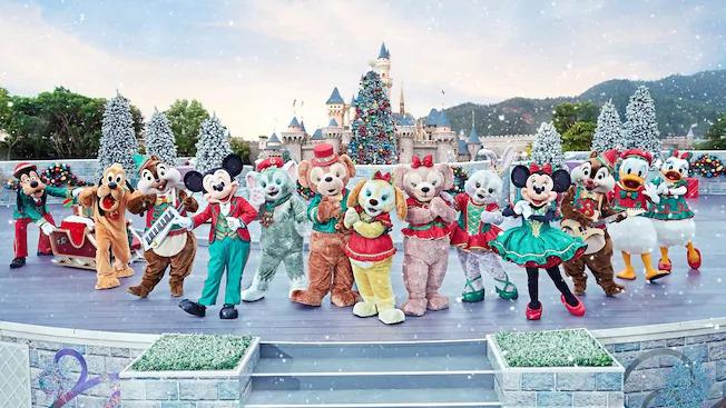 迪士尼 聖誕節 A Disney Christmas