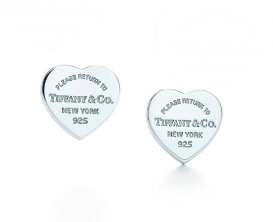 2-Tiffanys-迷你心形吊飾耳環