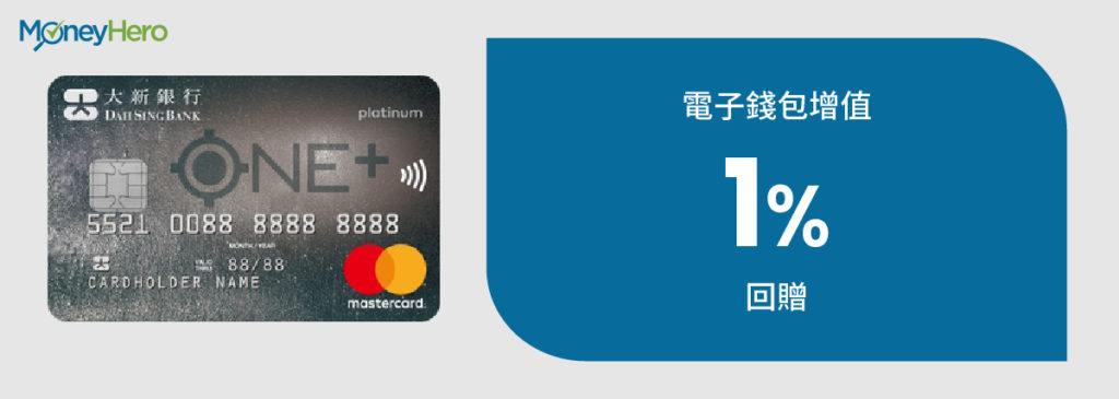 新ONE+信用卡