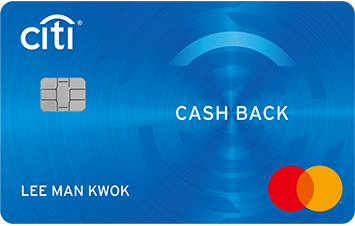 CITI CASH BACK MASTERCARD