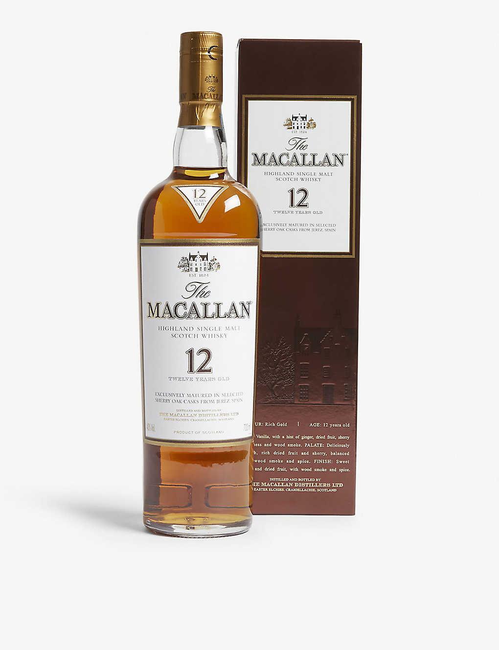 MACALLAN 12年威士忌