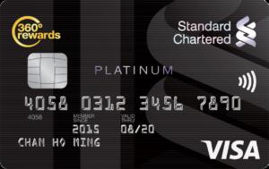 SCB Platinum Visa