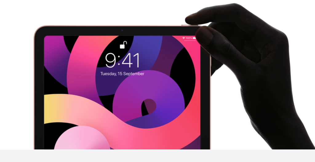 apple new ipad air touch id