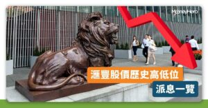 【滙豐股價 2021】0005滙控歷史高低位+派息分析