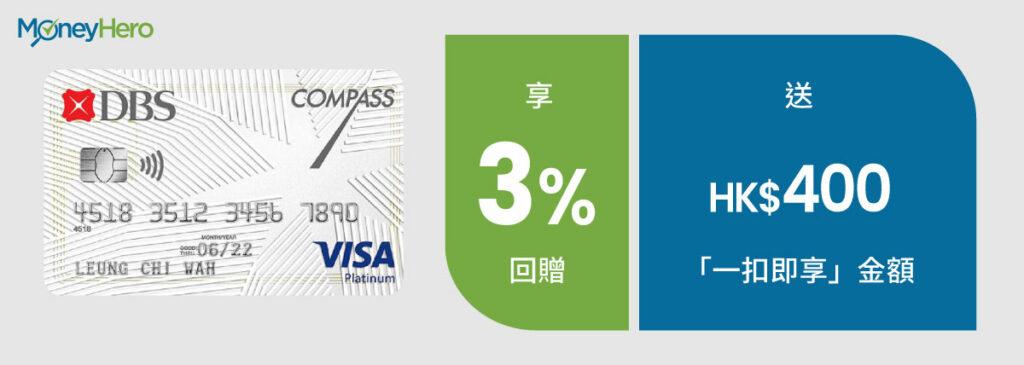 網購信用卡 DBS Compass Visa