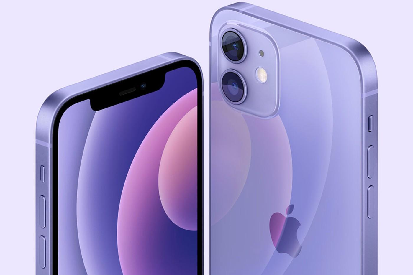 iPhone12 紫色