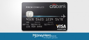 Apply for a Citibank PremierMiles Card and Get 8,000 Air Miles Instantly!