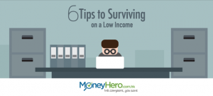 6 Tips to Surviving on a Low Income