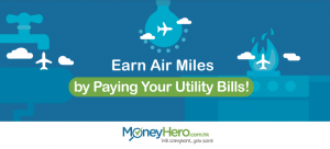 Earn Air Miles by Paying Your Utility Bills!