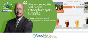 """""""Hire And Set Up The Best People. A Strong Team Spells Success."""" Mike Rosol, Vice President of Sales of Wayin"""