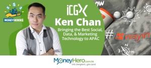 """""""Keep Learning! Keep Sharing!""""—Ken Chan, Marketing Director of ICGX"""