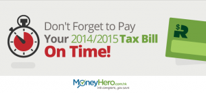 Don't Forget to Pay Your 2014/2015 Tax Bill On Time!